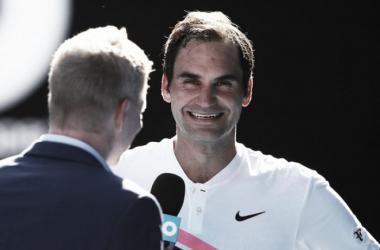 """Roger Federer: """"No me he empezado a sentir realmente cómodo hasta el tercer set"""""""