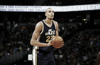 Rudy Gobert. Fonte: David Zalubowski/Associated Press