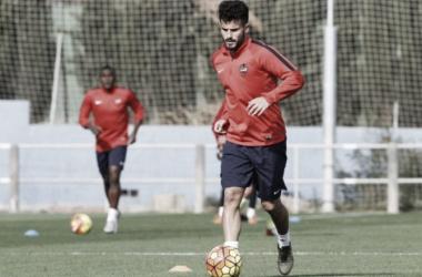 Rubén García ya se entrena con sus nuevos compañeros