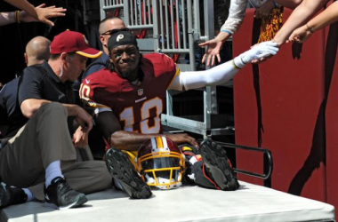 Robert Griffin III Diagnosed With Dislocated Ankle