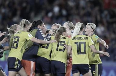 Suécia bate Canadá e avança para as quartas de final da Copa do Mundo