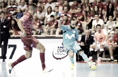 Ricardinho volvió a hacer de las suyas marcando un gol de rabona en la ida que ha dado la vuelta al mundo | @LNFS