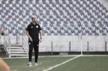 Miguel Ángel Ramírez em Fortaleza 5 a 1 Internacional (Ricardo Duarte / SC Internacional / Divulgação)