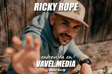 Ricky Rope: ''Lo más bonito cuando tu cantas una canción, es que alguien la cante contigo''