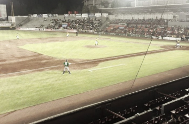No hubo buena entrada en el Andrés Romo | Foto: Rieleros de Aguascalientes
