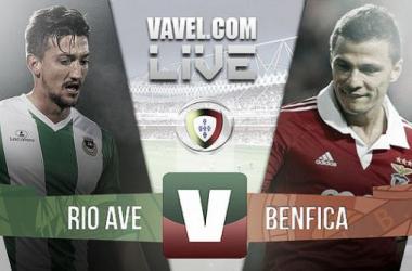 Rio Ave x Benfica    na Liga NOS (2-1)