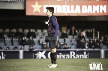 Foto de archivo de Riqui Puig durante un partido. FOTO: Noelia Déniz