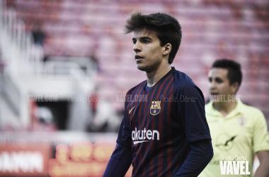 Imagen de archivo de Riqui Puig durante un partido. FOTO: Noelia Déniz