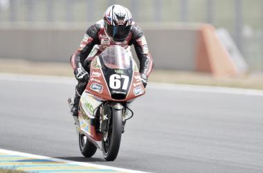 El piloto Gerard Riu en Le Mans. Fuente: Baiko Racing Team