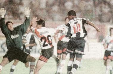 En ese partido, River empató 1-1 con Alianza. Fue en el Estadio Nacional. FOTO: el Popular.