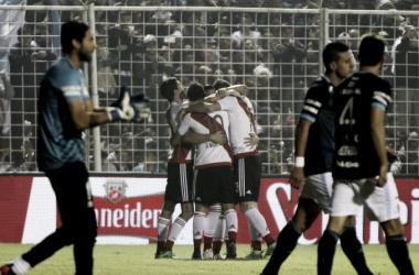 El último partido entre ambos en Tucumán fue victoria para el Millonario por 3-0. FOTO: Misiones Cuatro