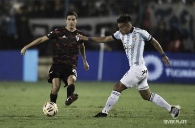 El último encuentro entre ambos, disputado en Tucumán, fue 1-0 a favor del Millonario. FOTO: Diego Haliasz / Prensa River