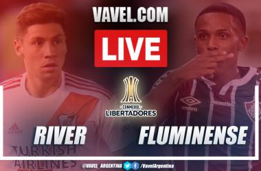 Resumen River vs Fluminense (1-3) en la fecha 6 del grupo D por Copa Libertadores 2021
