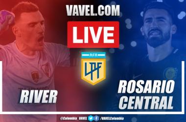 Resumen, resultado y goles de River vs Rosario Central (2-1)