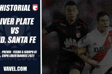 Historial River Plate vs Santa Fe: saldo en rojo para el 'león'