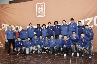 El equipo y el cuerpo técnico para este año. Foto: Prensa Rivadavia.