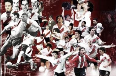 ídolos de todos los tiempos. Gloria en una sola imagen (Foto: River Plate Foros)
