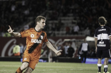 Alonso, el veterano del gol (Foto. Canchallena).