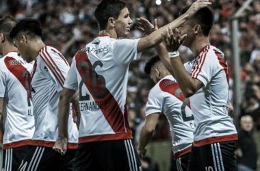 La última vez de River en Salta fue en 2017, en el triunfo por 3-0 frente a Atlas.