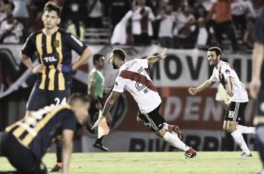 Último enfrentamiento. River 2-0 Rosario Central. (Foto. web)