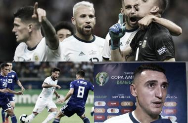 Tras el Copa América, los tres jugadores se reincorporarán el viernes a los entrenamientos (Fotomontaje: Adrián Gallardo)