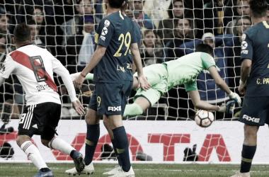 La última serie entre ambos equipos fue aquella recordada final de la Libertadores 2018 (Foto: Reuters)