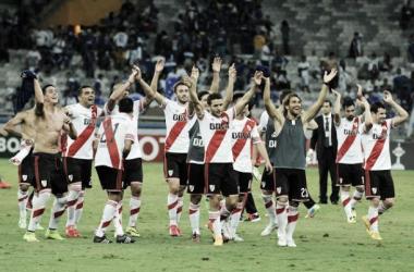 River y los festejos por su pase a semifinales, lo más significativo de estsos seis meses (Fuente: Olé).