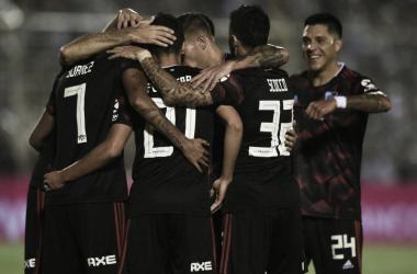 Nuevamente Ferreira vuelve a ser fundamental para el Millonario (Foto: Prensa River)
