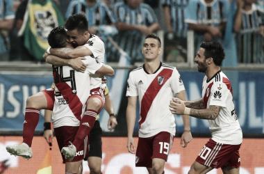 River pasó a la final de la Copa Libertadores 2018, tras ganar 2-1 a Gremio. (Foto: Olé)