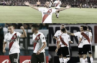 El equipo de Marcelo Gallardo finalizó a todo ritmo la Superliga (Fotomontaje: Adrián Gallardo)