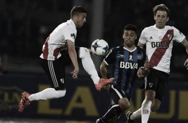 La última vez en Córdoba, River fue goleado 4-0 por Talleres. FOTO: Infobae