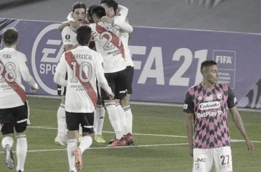 River Plate se impuso ante un pálido y frío Santa Fe
