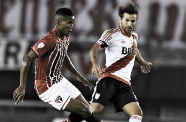 River vs Sao Pablo, duelo por la Copa Libertadores 2016. FOTO: La Página Millonaria.