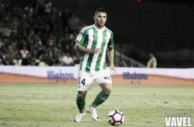 Riza Durmisi, jugador del Real Betis | Foto: Juan Ignacio Lechuga - VAVEL
