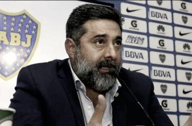 """Daniel Angelici: """"Nos hemos puesto de acuerdo con Talleres"""""""