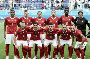 Suecia- Suiza: puntuaciones de Suiza octavos de final Mundial de Rusia 2018