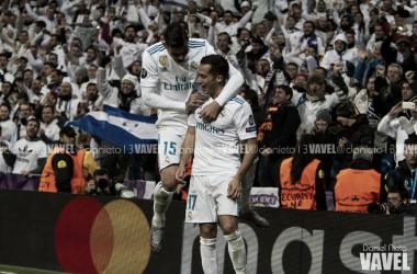 Theo y Lucas Vázquez contra el Borussia Dortmund | FOTO: VAVEL