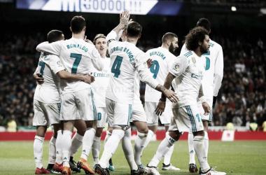 La reaparición del Real Madrid