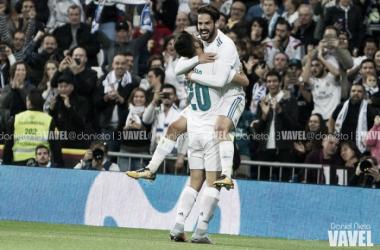 Asensio e Isco celebran un gol | Foto: VAVEL