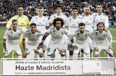 El once del Real Madrid para el encuentro con el Sevilla en el Bernabéu | FOTO: VAVEL