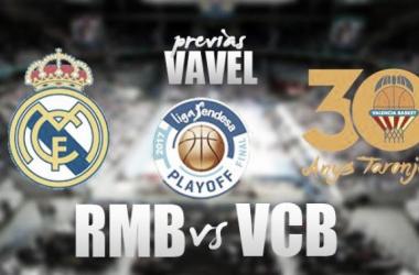 Previa Real Madrid - Valencia Basket   Montaje Verónica Fernández Ramos(Vavel)