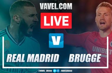 Resultado Real Madrid x Club Brugge pela Champions League (2-2)