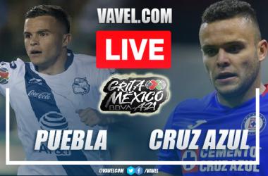 Goals and Highlights: Puebla 1-1 Cruz Azul in Liga MX 2021