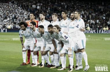 El once titular del Real Madrid contra el Tottenham | Foto: VAVEL