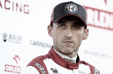 Robert Kubika con Alfa Romeo / Fuente: Formula1.com