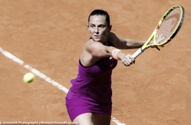 Roberta Vinci looked great today | Photo: Jimmie48 Tennis Photography