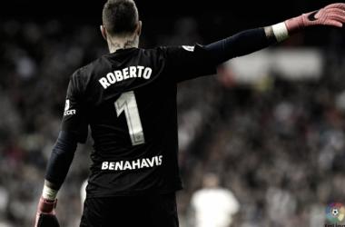 Roberto, el MVP de la desastrosa temporada malaguista