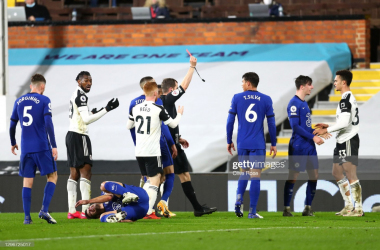 Fulham 0-1 Chelsea: 10-man Cottagers fall to Mount volley