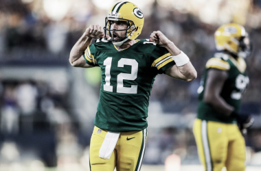 Aaron Rodgers // Foto: Green Bay Packers