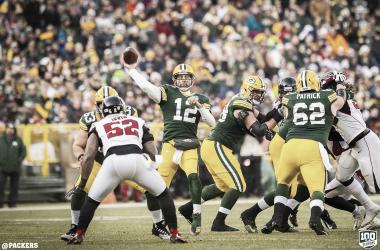 Aaron Rodgers tuvo un buen partido con dos pases de touchdown (Imagen: Packers.com)